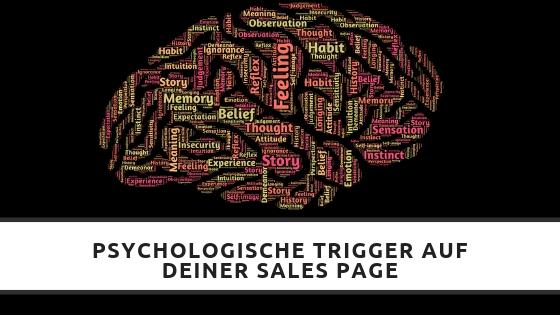 Psychologische Trigger auf Sales Pages