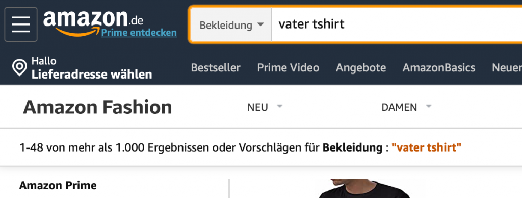 Merch by Amazon Nische