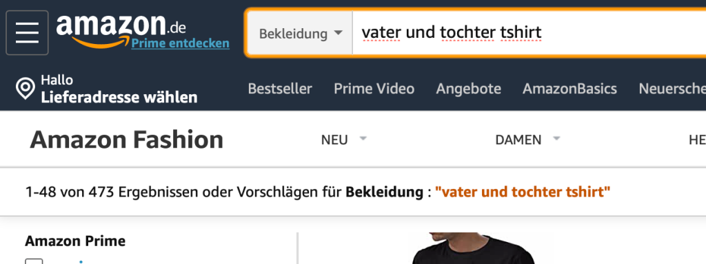 Merch by Amazon Unternische